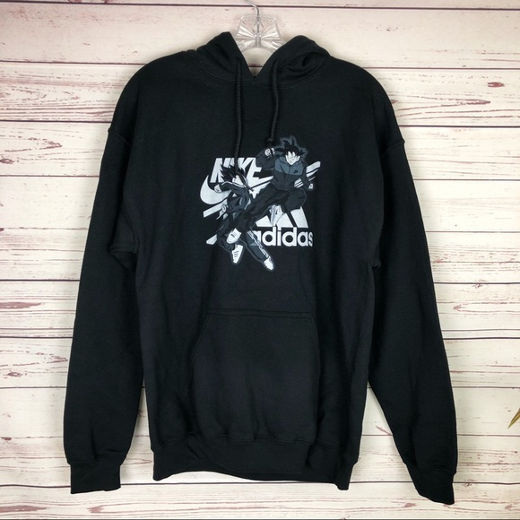 579d32aca Gildan Shirts | Dragonball Goku Vegeta Black Pullover Hoodie Nike ...